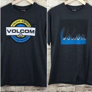 Volcom graphic t shirt bundle